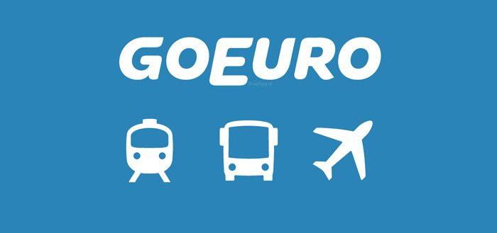 GoEuro App: un modo facile e veloce per organizzare il tuo viaggio in modo competo