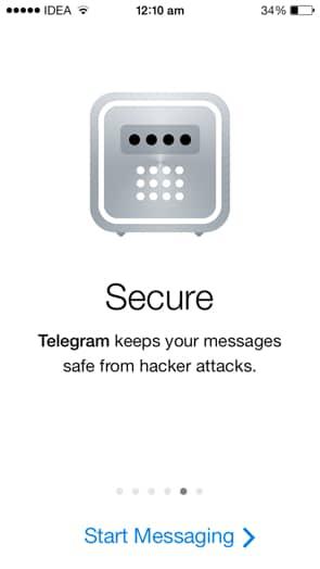 Telegram sicuro