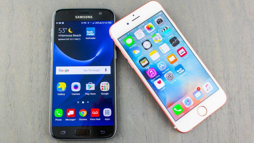 Galaxy S7 vs iPhone 6s: il confronto