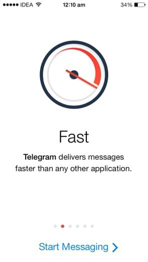 telegram veloce