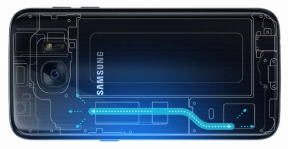 Galaxy-S7-raffreddamento
