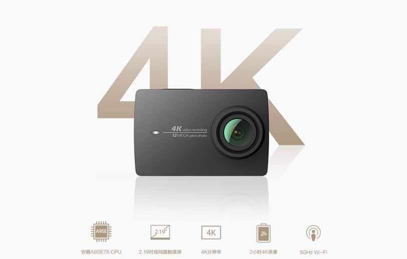Xiaomi annuncia la nuova Yi action camera 4K