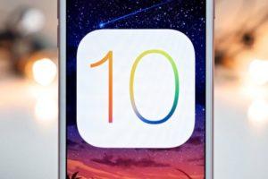 iOS 10: arriva l'aggiornamento alla versione 10.0.2