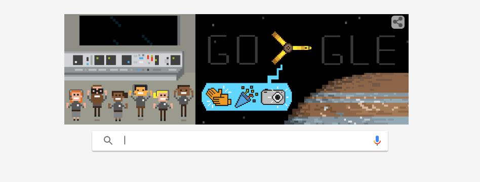 Google celebra JUNO con un fantastico Doodle!