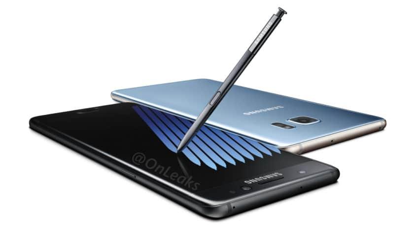 Samsung Galaxy Note 7: trapelate immagini, prezzo e caratteristiche