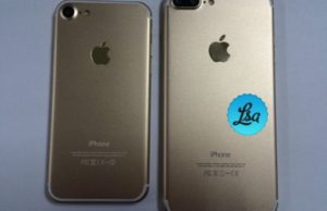 iPhone 7 e iPhone 7 Plus: colori Deep Blue, Gold e tasto home aptico