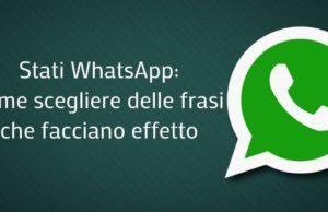 Stati-WhatsApp