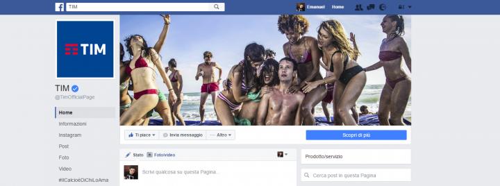 assistenza tim facebook