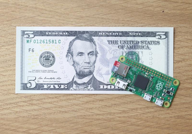 Raspberry Pi Zero: il futuro economico dei computer