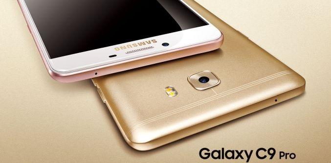 Samsung Galaxy C9 Pro annunciato ufficialmente