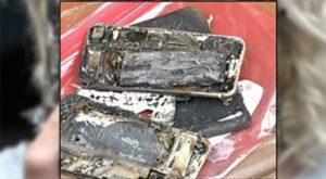iPhone 7 esploso a bordo di un veicolo, la storia si ripete?
