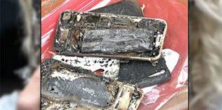 iPhone 7 esploso