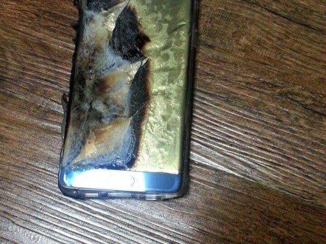 """Galaxy note 7 """"sicuro"""" esploso"""