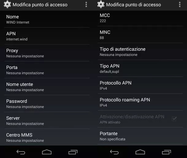 apn wind android
