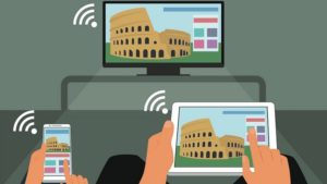 Come collegare il telefono alla TV con lo Screen Mirroring