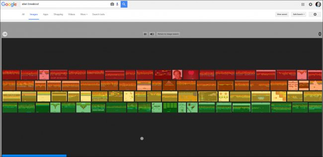Atari Breakout: come giocare all'easter egg di Google