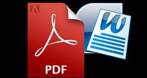 Convertire PDF in Word