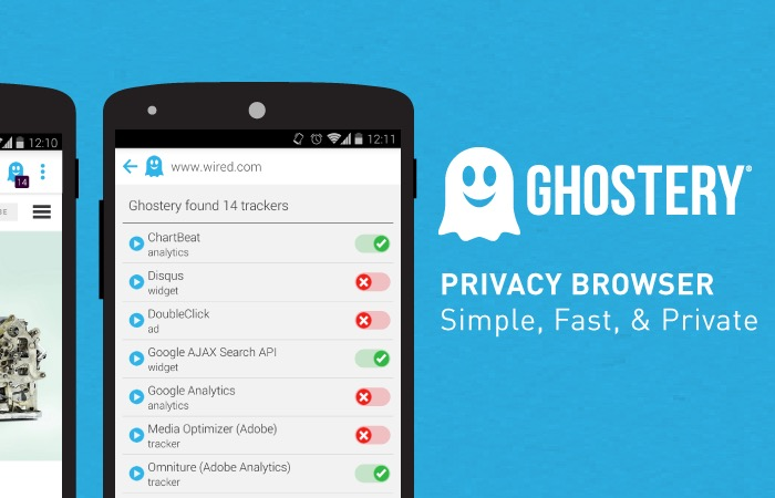 Ghostery Browser Android