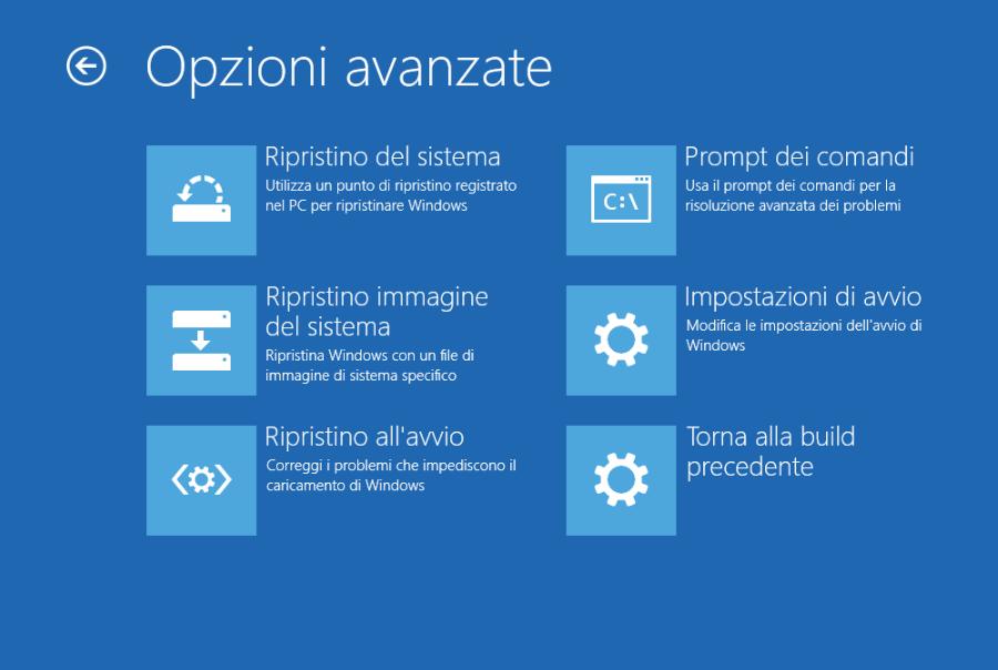 Avviare Modalità provvisoria Windows senza tasto F8